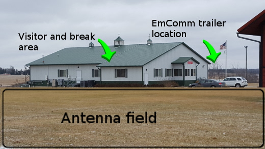 Winter Field Day site for 2018